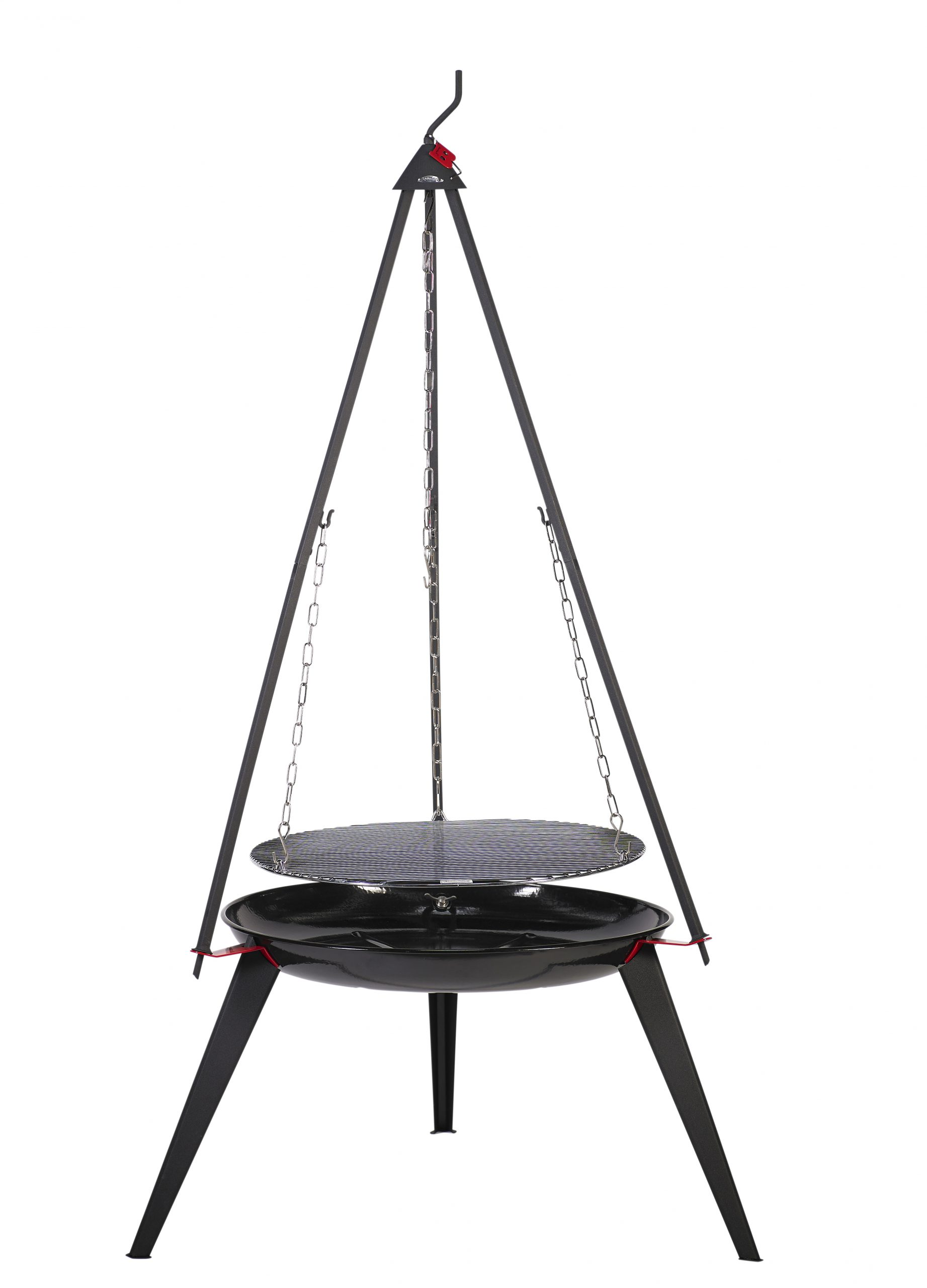 Bon-fire Brazier with long legs and fittings for Basic set.