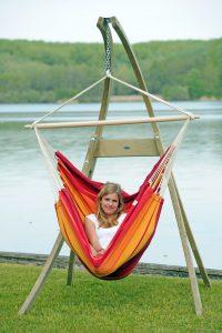 Amazonas Atlas stand for hang chairs.