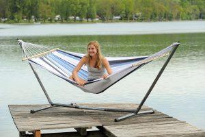Amazonas Sumo Rockstone stand for hammocks.