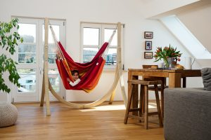 Amazonas Taurus stand for hang chairs.