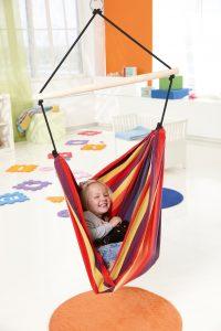 Amazonas Kid's Relax rainbow hang chair.