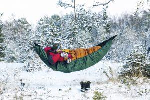 Amazonas Ultra-light Underquilt for hammocks.