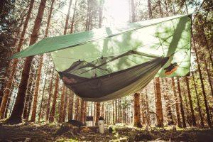 Amazonas Ultra-light Moskito-Traveller Thermo XXL hammock.