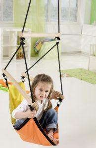 Amazonas Kid's Swinger yellow hang chair.