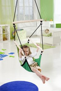 Amazonas Kid's Swinger green hang chair.