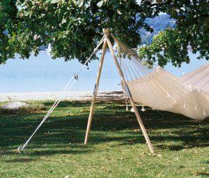 Amazonas Madera stand for hammocks.