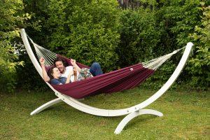 Amazonas Olymp stand white for hammocks.