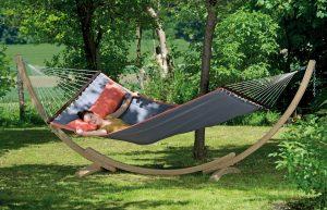 Amazonas Apollo stand with American Dream grey hammock.